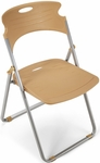 Flexure Folding Chair with Polypropylene Seat and Back - Butterscotch [303-P28-MFO]