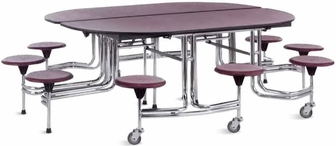 Cafeteria Tables With Attached Seating V4 Tc65 Senior Table