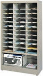 Forms and Storage 36'' W x 64.5'' H Cabinet with 33 Pockets - Pebble Gray [3665ND109-FS-MAY]