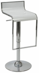 Fortuna Bar/Counter Stool in White [04384-FS-ERS]