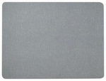 Frameless Designer Fabric Display Panel with Radius Corners - Gray - 18''H x 24''W [RDF1824012-AA]