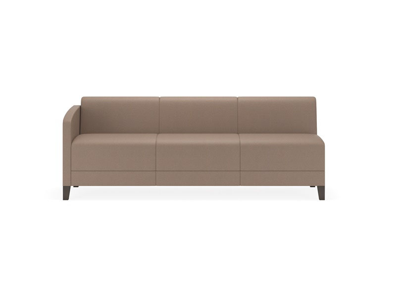 Fremont series sofa with right arm only e3401r8 by lesro for Sofa with only one arm