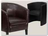 Fully Upholstered Reception Chairs