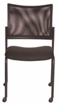 Getti Mesh Open Back Four Post Side Chair on Casters - Set of 2 [GT3075-FS-VALO]