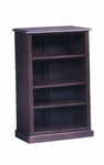 Governors 48'' H Bookcase - Engraved Executive Mahogany [7350-148-FS-DMI]