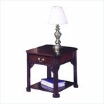 Governors End Table - Engraved Executive Mahogany [7350-81-FS-DMI]