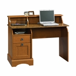 Select Collection 47''W Desk with Faux Granite Top - Autumn Maple [408761-FS-SRTA]