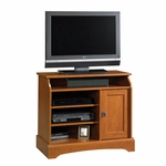 Select Collection 35''W Highboy TV Stand with Adjustable Shelves - Autumn Maple [408972-FS-SRTA]