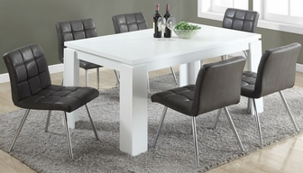 Grey Faux Dining Chairs Riviera Dining Chair in Grey Faux