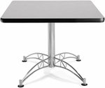 36'' Square Multi-Purpose Table - Grey Nebula [KLT36SQ-GRYNB-MFO]