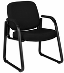 Guest and Reception Chair with Arms - Black [403-805-MFO]
