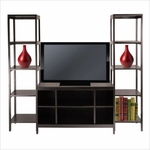 Hailey 3-Pc TV Stand Shelf Set [92340-FS-WWT]
