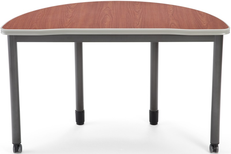 Mesa d x w half round table cherry for 66180 1
