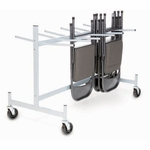 Hanging Folded Chair and Table Storage Truck - 42''H [940-RPC]