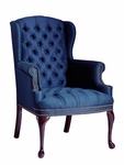 Hamilton Series Wing Guest Chair with Tufts [1103-FS-UNE]