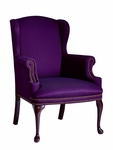 Hamilton Series Wing Guest Chair without Tufts [1103NT-FS-UNE]