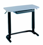 Hand Therapy Table with Drawer - 32''W X 18''L X 26.5 - 40.5''H [HAU-6283-FS-HAUS]
