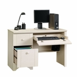 Harbor View 43.5''W Computer Desk - Antiqued White [401685-FS-SRTA]