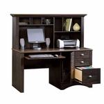 Harbor View 62.25''W Computer Desk with Hutch - Antiqued Paint [401634-FS-SRTA]