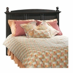 Harbor View Headboard with Finials - Full/Queen - Antiqued Paint [401326-FS-SRTA]