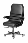 Hercules 3000 Office Chair with Adjustable Lumbar Support - Fabric [OF-HERC30-F-FS-ARE]