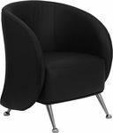 HERCULES Jet Series Black Leather Lounge Chair [ZB-JET-855-BLACK-GG]