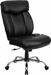 HERCULES Series Big & Tall 400 lb. Rated Black Leather Executive Swivel Chair [GO-1235-BK-LEA-GG]