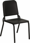 HERCULES Series Black High Density Stackable Melody Band/Music Chair [HF-MUSIC-GG]