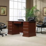 Heritage Hill 70.5''W Executive Desk with Locking Drawers - Classic Cherry [109843-FS-SRTA]