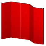 Hero 10 Panel Full Height Exhibit with Curved Endcaps [H13-OR]