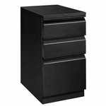 The HON Company Brigade Series with R Pull Mobile Filing Pedestal - Black [HON33720RP-FS-SP]