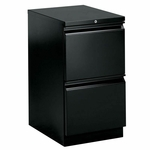 The HON Company Brigade Series with R Pull Mobile Filing Pedestal - 15''W X 22.9''L X 28''H [HON33823RP-FS-SP]