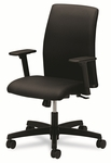 HON® Ignition Series Low-Back Task Chair - Black Fabric Upholstery [HONIT105NT10-FS-NAT]