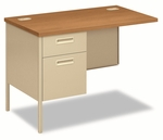 HON® Metro Classic Series Workstation Return - Left - 42w x 24d - Harvest/Putty [HONP3236LCL-FS-NAT]