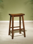 Honey Brown Bar Stool [455-431-FS-PO]