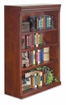 kathy ireland Home™ Huntington Collection 36''W x 48''H Open Bookcase -Vibrant Cherry [HCR3648-FS-KIMF]