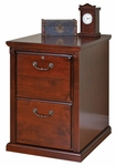 kathy ireland Home™ Huntington Collection 20.75''W x 29''H Two Drawer File -Vibrant Cherry [HCR201-FS-KIMF]