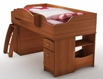 Imagine Collection Loft Bed Morgan Cherry [3576A3-FS-SS]