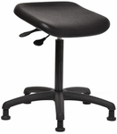 Indy 300 Series Basic Swivel Sit and Stand Stool with Polyurethane Seat [IN09-FS-SEA]