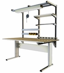Infinity Power Adjusted Ergonomic Workbench - Two Leg [IN-IWB-2L6030-ADAS]