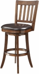 Inspired By Bassett Mission 30'' Bar Stool with Eco Leather Seat - Espresso [BP-MSST30-EC1-FS-OS]