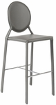 Isabella-B Bar Chair in Gray - Set of 2 [02482GRY-FS-ERS]