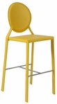 Isabella-B Bar Chair in Yellow - Set of 2 [02482YEL-FS-ERS]