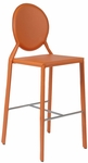 Isabella-C Counter Chair in Orange - Set of 2 [02481ORG-FS-ERS]