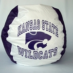 Kansas State Wildcats Bean Bag Chair [BB-40-KSST-FS-BBB]