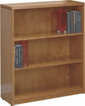OSP Furniture Kenwood Hardwood Veneer 3-Shelf Bookcase with Adjustable Shelving [KEN55-FS-OS]