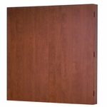 OSP Furniture Kenwood Hardwood Veneer Presentation Board with Dry Erase Surface [KEN100-FS-OS]