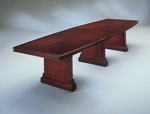 Keswick 12' Boat Top Conference Table - English Cherry [7990-97-FS-DMI]