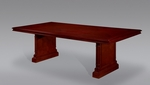 Keswick 8' Rectangular Conference Table with Twin Slab End Bases - English Cherry [7990-94-FS-DMI]