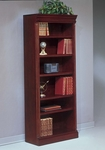 Keswick Open Bookcase Center - English Cherry [7990-108-FS-DMI]